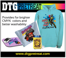 Light Garment CMYK Pretreat for Brother GT-541, GT-782 & GT-3 Printers